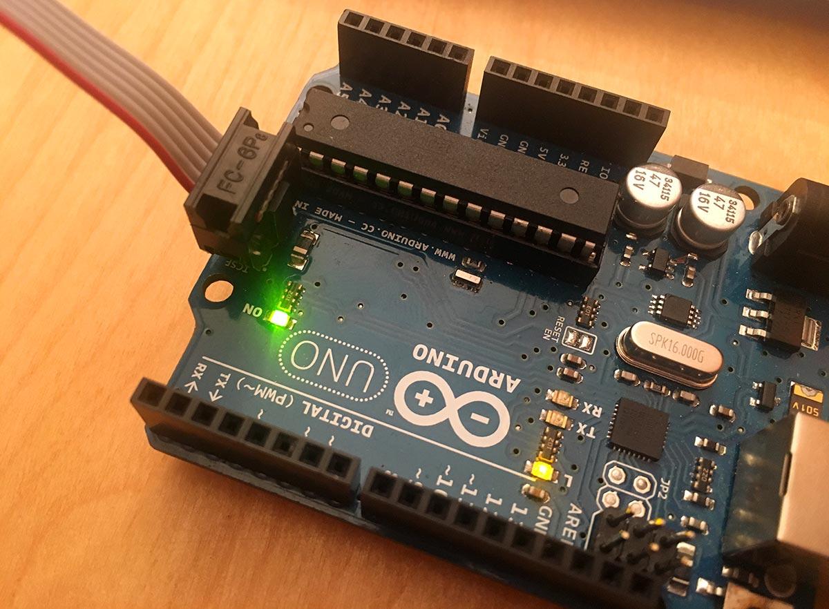 ISP Arduino Verbindung
