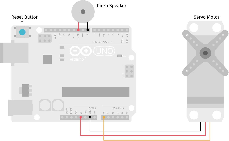 Schaltung Arduino Pacman